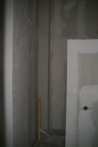 Abluftschacht im Badezimmer