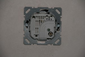 Raumthermostat im Fast-Fertig-Format