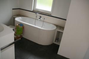 Eingebaute Badewanne