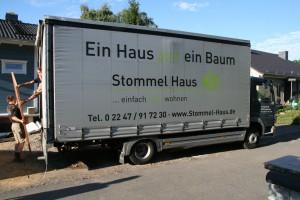Stommel-LKW mit Innentüren und Zargen