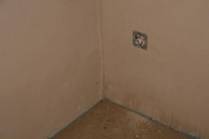 Etwas trockenere Ecke in der Abstellkammer