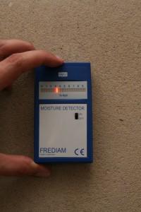 Elektronische Feuchtigkeitsmessung