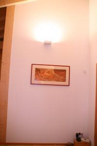Deckenfluter im Wohnzimmer